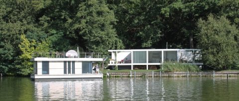 Berlin Havelufer Marina Seelodge und Hausboot